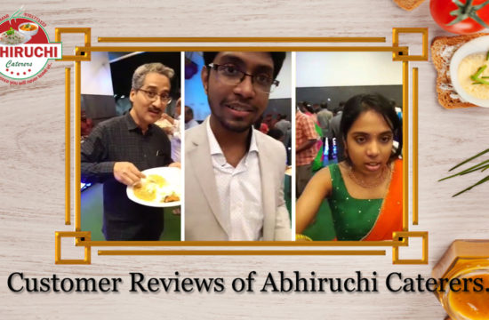 Customer Reviews of Abhiruchi Caterers.