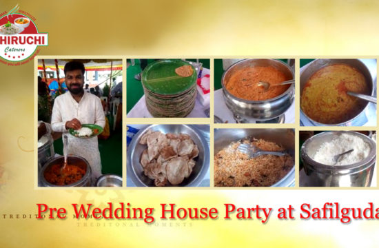 Pre-Wedding House Party at Safilguda
