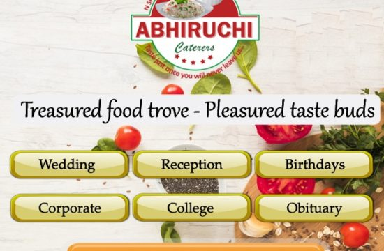 Services of Abhiruchi Caterers