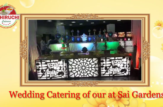 Wedding Catering of our at Sai Gardens