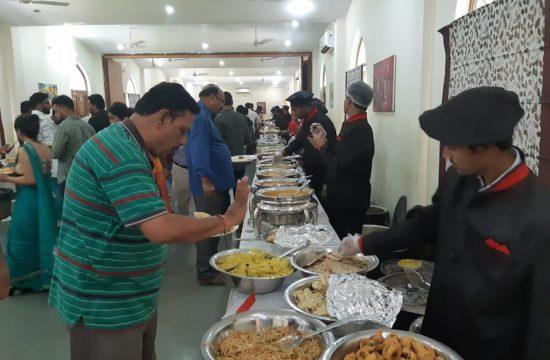 wedding catering at Taramati Baradari
