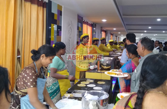 Wedding Lunch Catering at Jillelaguda