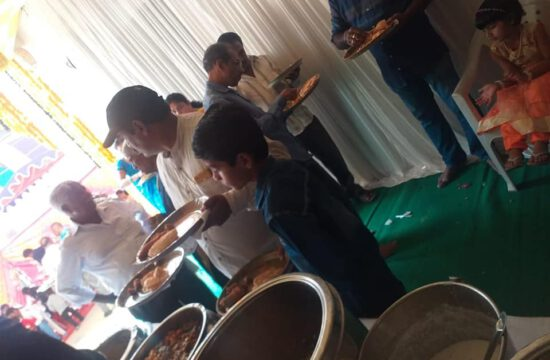 Abhiruchi Caterers was Catering at Attapur, Hyderabad