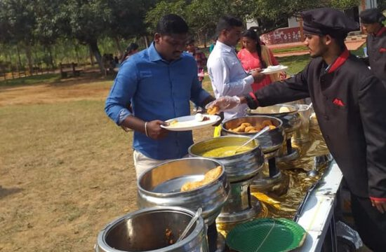 Abhiruchi Caterers as Catering at Cherlapally Central Jail, Hyderabad.
