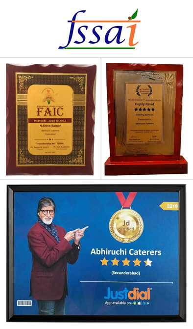 Abhiruchi Caterers Awards & Rewards